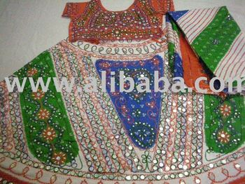 Ghagra Choli Lengha Rajasthani Indian Dress
