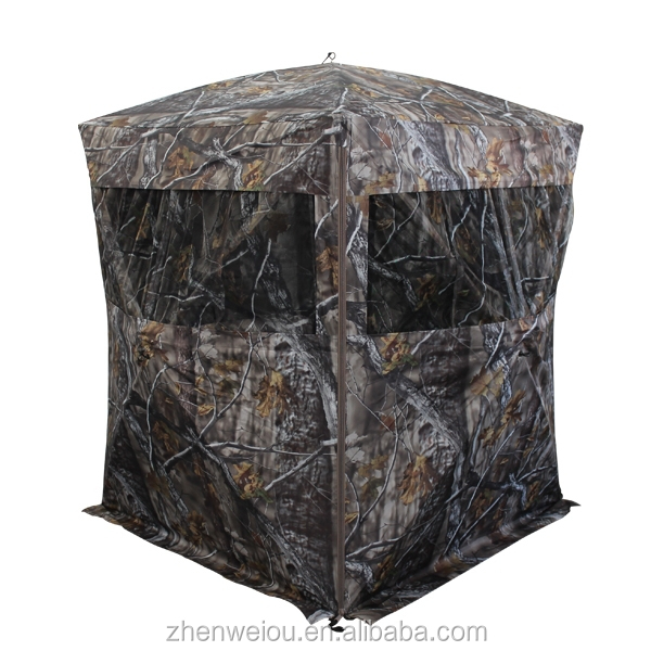 2016 New Design Pop up Camouflage Tent Hunting Blind for Outdoor Hunting