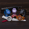 High-quality different color silicone rubber band japan movt quartz watch