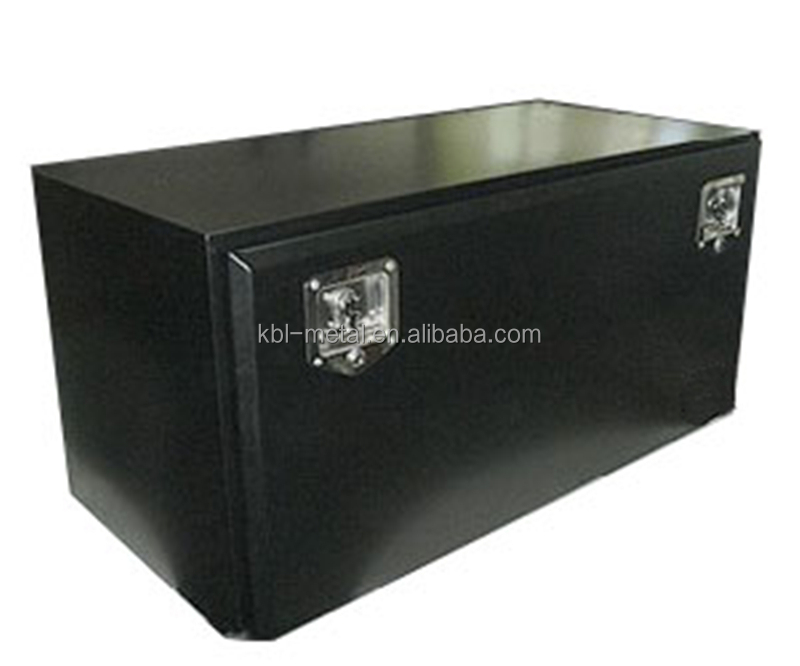 Black Steel Powder Coated Underbody Truck Tool Box 1200*500*500 Long Truck Trailer