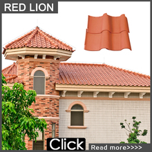 S1 tile span roofing/ glazed spanish roof tiles prices