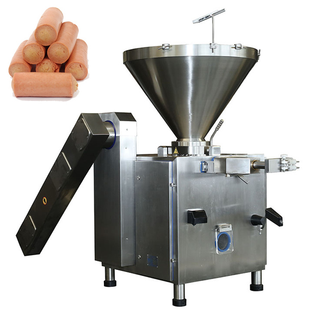 High ratio reliable cheap volume 220L Operation easy sausage grinder stuffer