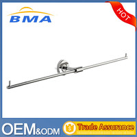 2016 Hotel Bathroom Wall Mounted Extension Stainless Steel Towel Bar