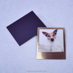 2015 hot selling gold and silver color magnetic picture photo frame