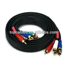 Component Video Cable 5 RCA 3 FT RGB HDTV DVD VCR