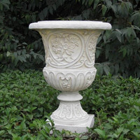 Polyresin Hot Sale For Hotel Decoration Angle Garden Flower Pot