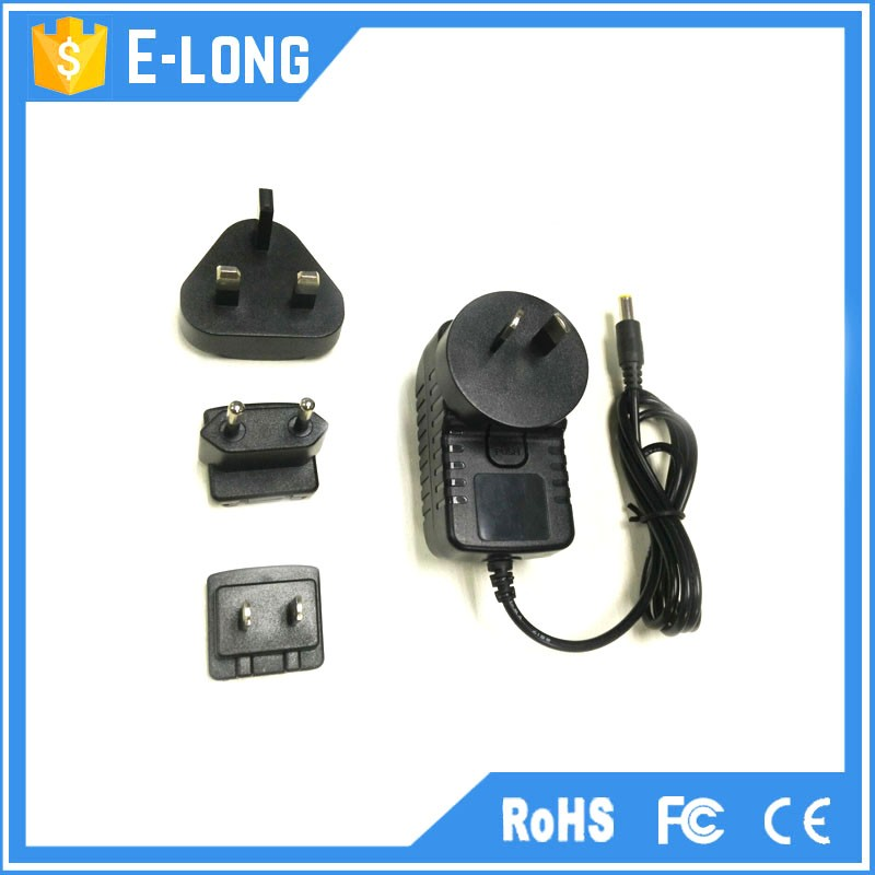 Hot sale interchangeable power adapter/power supply 12v 2a /12v 1a