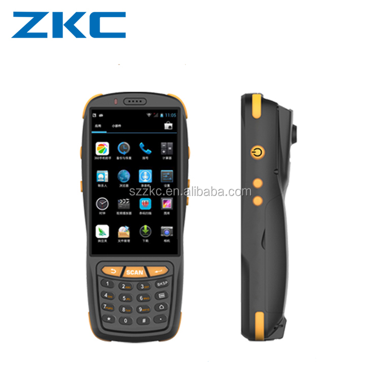 Newest IP65 Rugged Handheld Mobile PDA Android 5.1 Barcode Scanner for Smartphone PDA ZKC3503