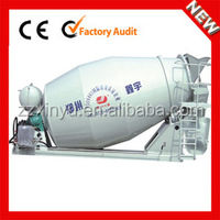 Diagram of concrete cement mixer truck JCD-4