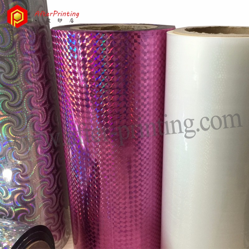 Chinese xxx Film Metaled Holographic Film for Printing and Packaging