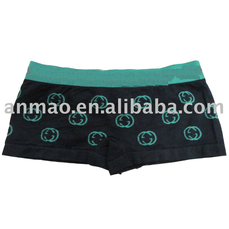 fashion ladies seamless boxer/briefs