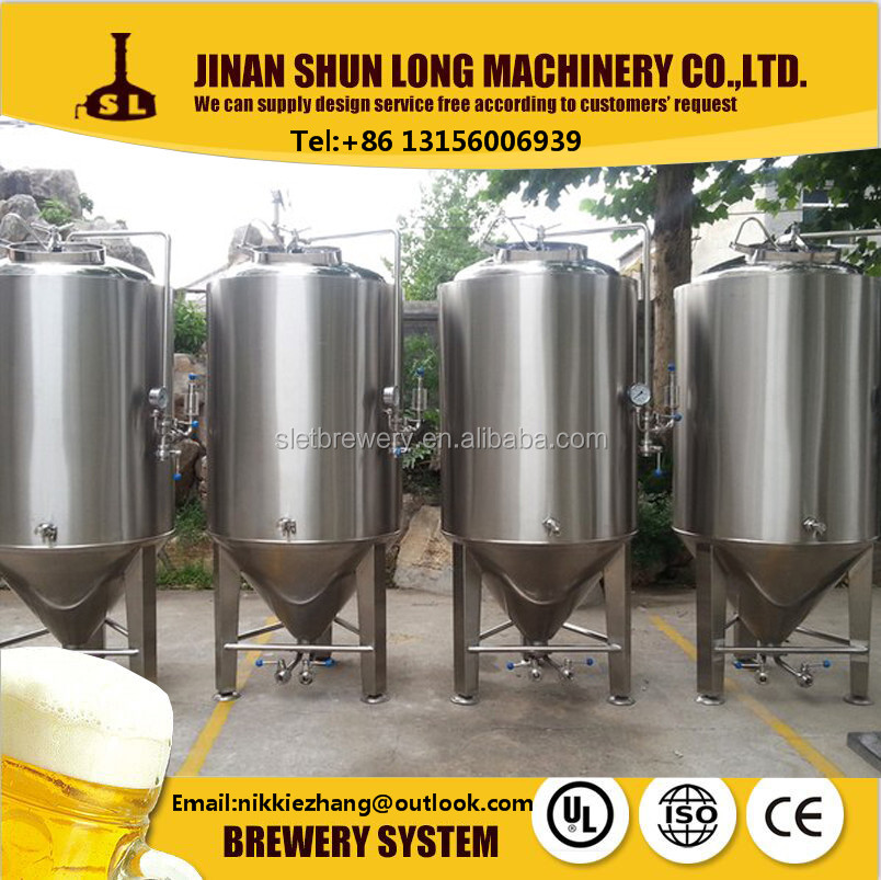 alcohol production equipment 500L craft beer brewing making machine for pub