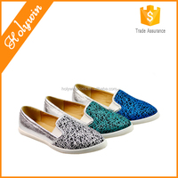 High quality cheap durable canvas strictly comfort shoes for women