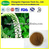 Pure 5% Triterpene glycosides cimicifuga racemosa extract powder