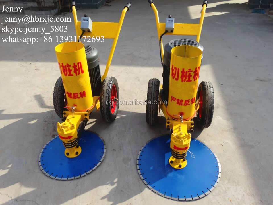 1200mm concrete pile cutting machine reinforced concrete pile head cutter