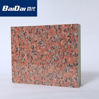 Baidai Engraved metal insulation Board/ Carved metal insulation board/embossed metal decorative wall panel
