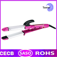 Professional hair straightener and flat iron