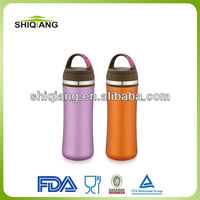350ml slim waist vacuum tea bottles with tea filter carabiner lid and steel ring used for outdoor exercise