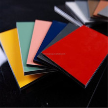 aluminium composite panel ACM modern building facade materials