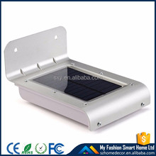 With best price for sell Outdoor Waterproof Ip65 High Lumen Motion Sensor integrated solar powered light