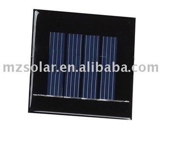 0.2W epoxy resin solar panel,mini solar panel