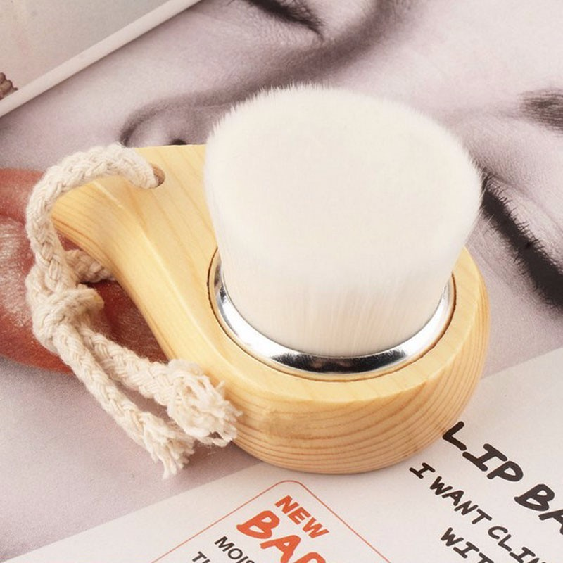New cute corn shaped design Soft Mild Fiber Exfoliating Face wahsing cleaning Brush Facial Deep Cleansing brush