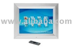 15 inch multifunction digital photo frame Resolution: 1024x768 wooden frame support bluetooth