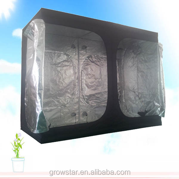 Hydroponic heavy-duty grow portable lightweight grow tent