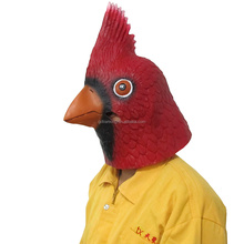 Latex Full Head Bird Masks Rubber Halloween Party Masks Funny Animal Head Masks