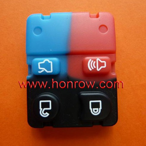 Best-selling Ford 4 button remote key rubber pad ford rubber button pad