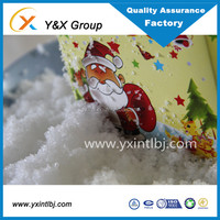 Super absorbent polymer Manufacturer Artificial Snow powder Christmas decoration snow