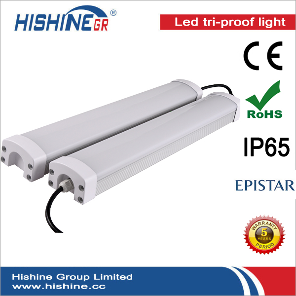 120cm 60w 4ft Led Light For Car Wash with CE ROHS SAA DLC Certification