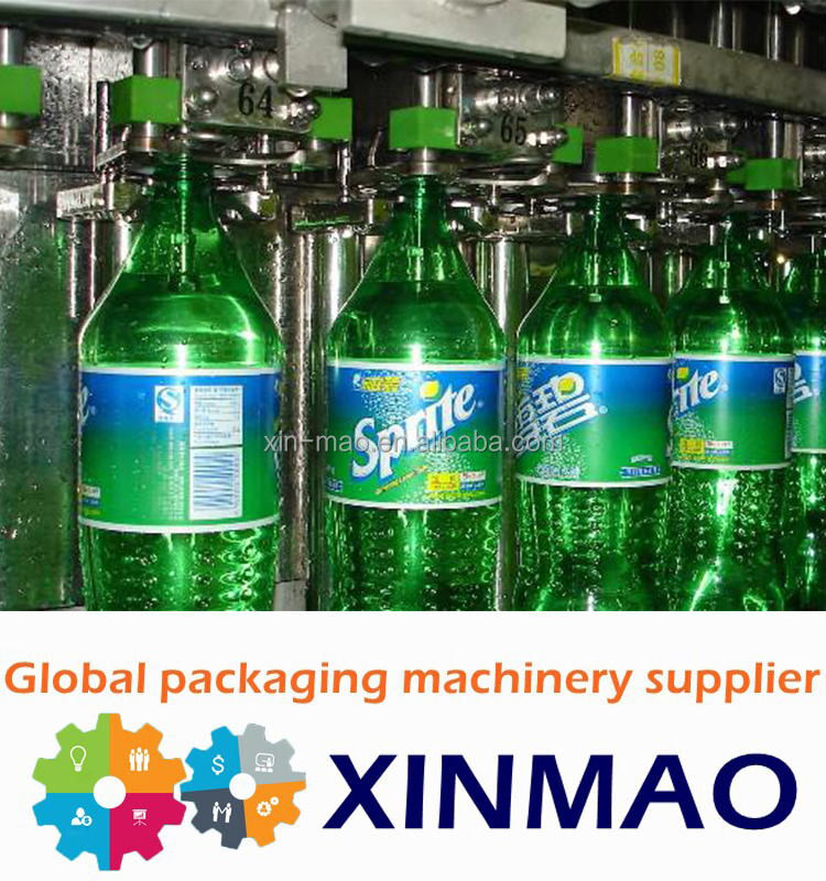 Full automatic carbonated soft drink filling line/soft drink production line /Drink Mix Machine for Carbonated Drinks