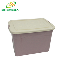 large opaque plastic wheeled container storage boxes with lid wholesale