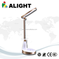 Brightness Rechargeable Desk Lamp 9w led table Lamp with Aluminum 5500-6000K USB Touch Sensitive Switch Energy Saving Light