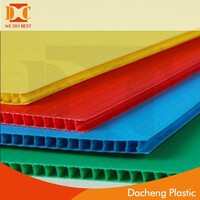 Rich Color Custom PP Corrugated Sheet