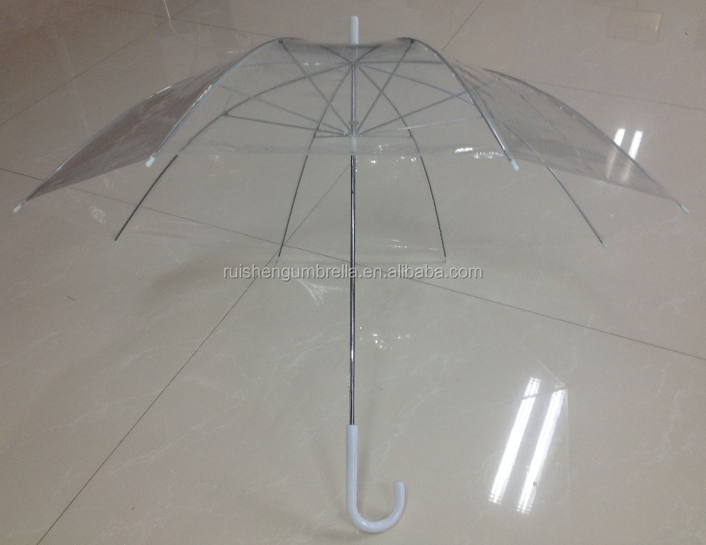 Japanese wholesale products low cost transparent umbrella for subway