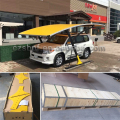 Wind resistant modern carport designs/car parking tent with 1050g/sqm PVDF roof
