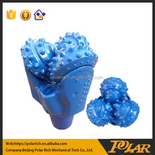 Rock drilling auger bit tricone drill bit