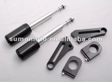 Motorcycle frame slider GSX 1400 no fairing cut carbon fiber 950-5920