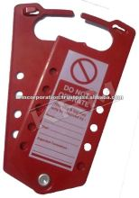 loto products- labeled Hasp