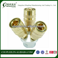 THREE-WAY QUICK COUPLING AIR MANIFOLD