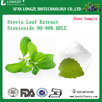 Stevia Leaf Extract Powder Stevia P.E Stevia Sugar Stevioside Extract