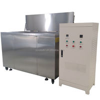 Industrial washing machine for motor