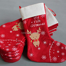 Factory sale bright color xmas stockings christmas decorative socks,funny christmas socks in storage