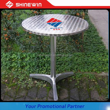 outdoor aluminum table