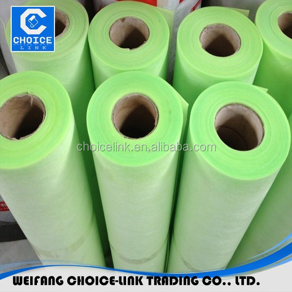 PP and PE compound membrane indoor roofing material
