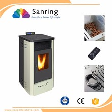 13kw high quality cast iron pellet stove, fireplace hearth slabs with CE & TUV