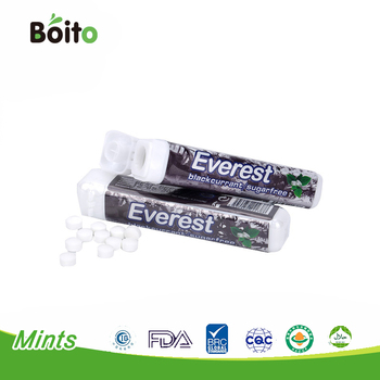 9g private label xylitol mints peppermint candy xylitol tablet candy in plastic tube