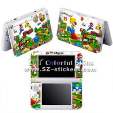 Vinyl Skin Sticker for Nintendo 3ds xl for dsi xl for 3ds with Mario and Other Mix Designs